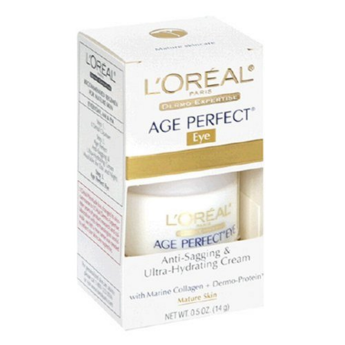 L'Oreal Dermo-Expertise Age Perfect Anti-Sagging and Ultra-Hydrating Cream, Eye, 0.5-Ounce (Age Perfect Eye Cream)