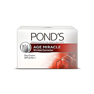 POND'S Age Miracle Wrinkle Corrector (Anti-Wrinkle) Spf 18 Pa++ Anti Aging Day Cream, 50 g