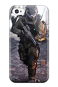 Tpu Case Cover Compatible For Iphone 4/4s/ Hot Case/ Call Of Duty Advanced Warfare