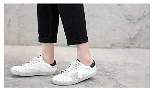 Pantalone Nero Con Pantaloni Donna Onlyoustyle Nove Punti Piedi Pants Casual Moda Coulisse Piccoli 7vRRqnZ