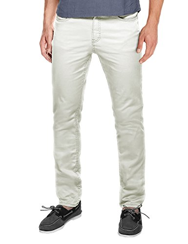 Match Men's Slim Fit Straight Leg Casual Pants(34, 8032 Off white)