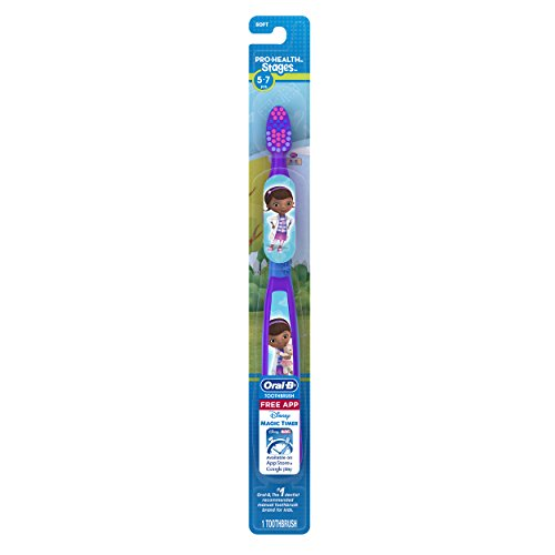 Oral-B Pro Health Stages Doc McStuffins Toothbrush, Pack Of 6 (Packaging May Vary)