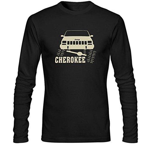 Mens Jeep Cherokee Long Sleeve Shirt