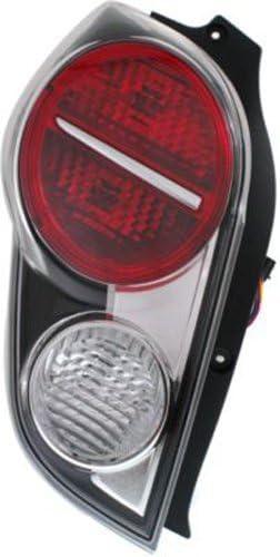 DNA Motoring TL-3D-HA14-RDSM Red//Smoked 3D LED Bar Tail Light 13-15 Honda Accord