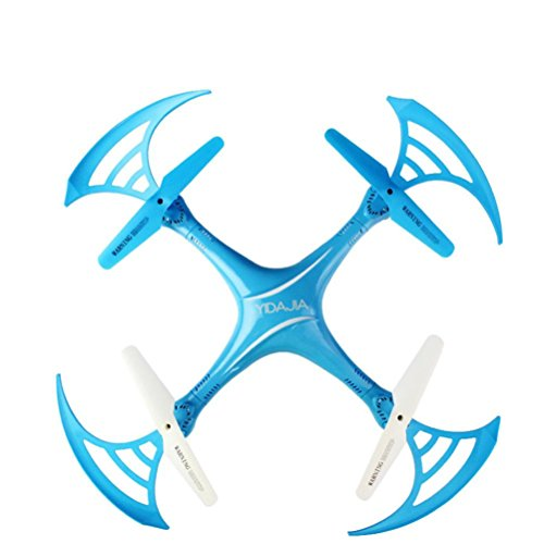 WARMSHOP With 360 Degree 2.4Ghz Quadcopter With Camera WIFI FPV Headless Mode Altitude Hold RC UFO Drone (Blue) by WARMSHOP