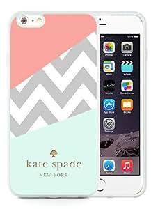 DIY Hot Sale iPhone 6 Plus Case,Kate Spade 108 White New Design iPhone 6 Plus 5.5 Inch TPU Phone Case