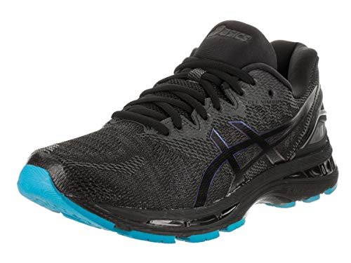 ASICS Mens Gel-Nimbus 20 Lite-Show Running Shoes, Black/Black, Size 10.5