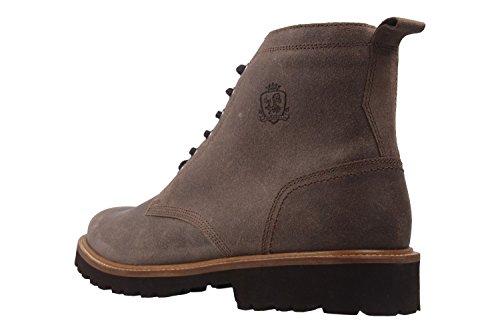 Manz - Botas de Piel para hombre marrón marrón