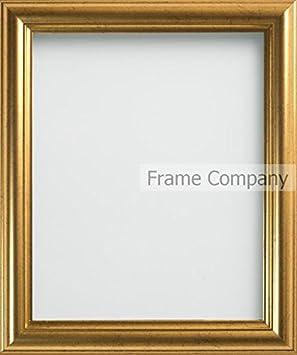 misure varie A2 - 42x59.4cm oro Frame Company Cornice portafoto dorata 16.5 x 23.4