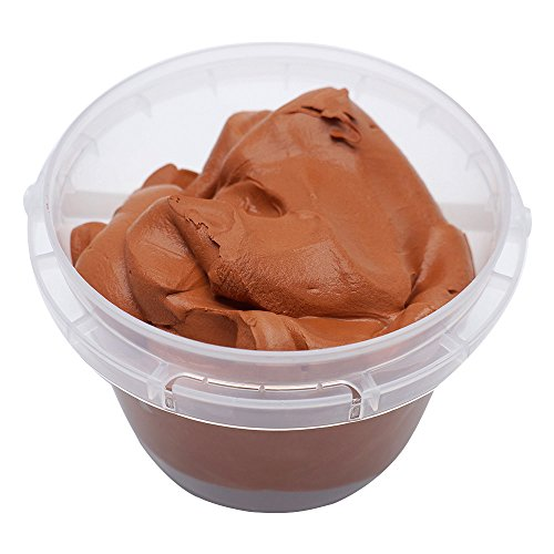 y Creative Modeling Clay Bucket with Assorted Colors Ultra Light Molding Magic Clay Brown ()
