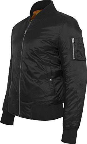 para Urban Hombre Classics Basic 7 Jacket Black Bomber Negro Chaqueta wXZ7Xq4