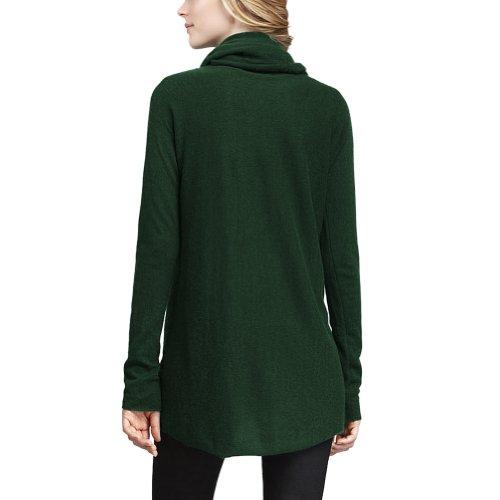 Parisbonbon Women's 100% Cashmere Cowl Neck Sweater Color Hunter Green Size 3X by Parisbonbon (Image #1)
