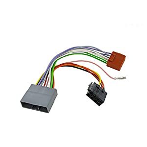 41IL6AthlDL._SY300_ amazon com wiring harness adapter for honda cr v 2007 iso stereo 2014 Honda CR-V at crackthecode.co