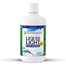 Sunwarrior - Liquid Light, Fulvic Acid Mineral Supplement with Detoxifying Electrolytes & Antioxidants, Stamina & Recovery Formula, 32 Servings (32 oz)