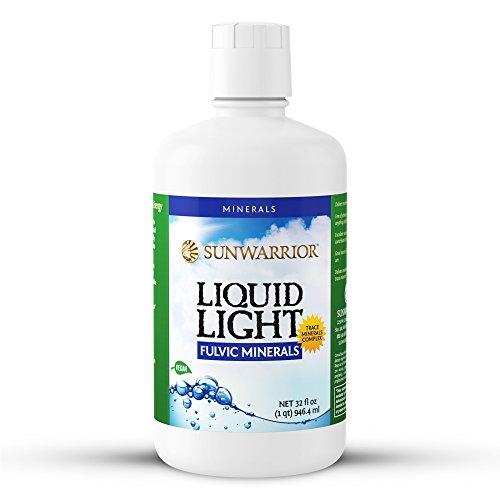 Sunwarrior – Liquid Light, Fulvic Acid Mineral Supplement, 32 Servings (32 oz)
