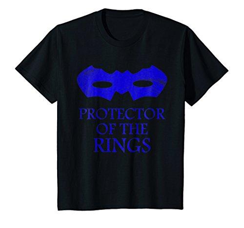 Kids Kids Funny Protector of the Rings Tshirt- Boys Wedding Shirt