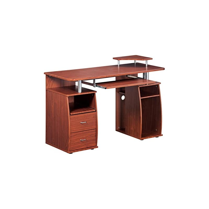 Complete Computer Workstation Desk With