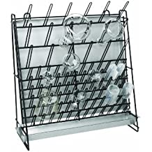 heathrow scientific hs23243a glassware drying rack vinylcoated steel wire or 462 x 182 x 525mm l x w x h