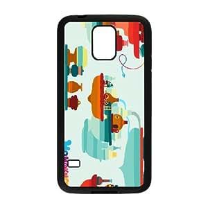 hohokum Samsung Galaxy S5 Cell Phone Case Black xlb2-322968