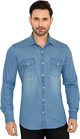 GLOBALRANG Men's Slim Fit Shirt