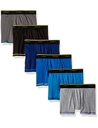 Hanes Cool Comfort - Calzoncillos Tipo Calzones de Malla Transpirable (6 Unidades) Slip para Niños