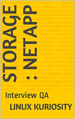 - Storage : NetApp: Interview QA