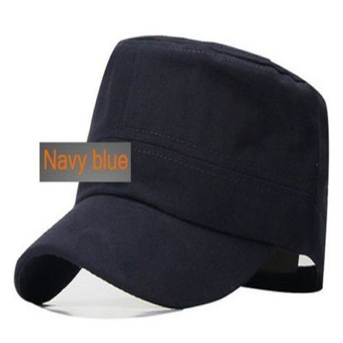 181b1e96a68 New Classic Plain Vintage Army Military Cadet Style Cotton Cap - Import It  All