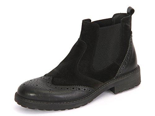 Hombre Zapatos llanos nero/nero negro, (nero/nero) 6670000