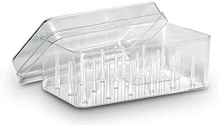 Gutermann - Caja organizadora para 18 bobinas de Hilo de Coser: Amazon.es: Hogar