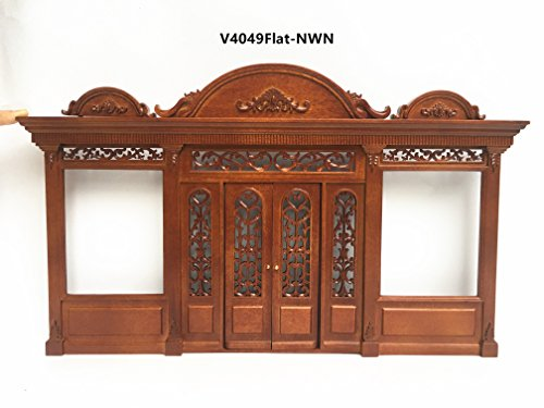 The Duchess - Quality wooden storefront facade 1:12 scale roombox dollhouse miniature walnut by miniLAND - The Center for Hand Crafted Miniatures