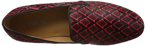 Nine West Clowd Pony Ballet Flat Dark Red Multi/Black cheap sale for cheap Sx25NhI
