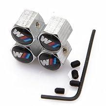 Anti-theft Wheel Tire Valve Stem Caps For BMW M