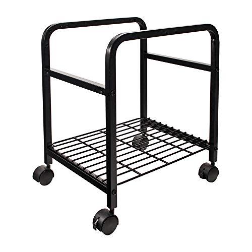 Cropper Hopper Heavy-Duty Rolling Cart-14.375x20x17.375 Black