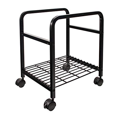 Cropper Hopper Heavy-Duty Rolling Cart-14.375x20x17.375 Black