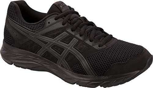 ASICS Gel-Contend 5 Men's Running Shoes, Black/Dark Grey, 10.5 M US