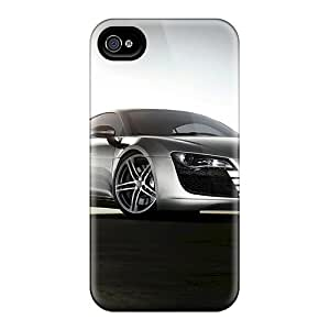 Hot Snap-on Audi R8 Hard Cover Case/ Protective Case For Iphone 4/4s
