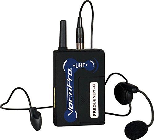 VocoPro UHFBP1F Headset for UHF-3200, UHF-3205, UHF-5800,...