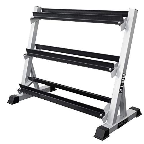 Valor Fitness BG-12 Dumbbell Rack 3-Tier