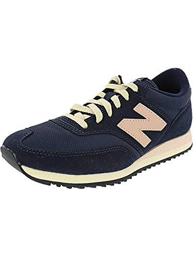 New Balance Women's 620 70S Running Lifestyle Fashion Sneaker, Navy/Pink, 10 B -