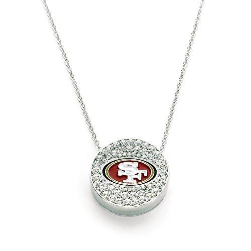 NFL San Francisco 49ers Eclipse Pendant (Francisco Pendant 49ers San Logo)
