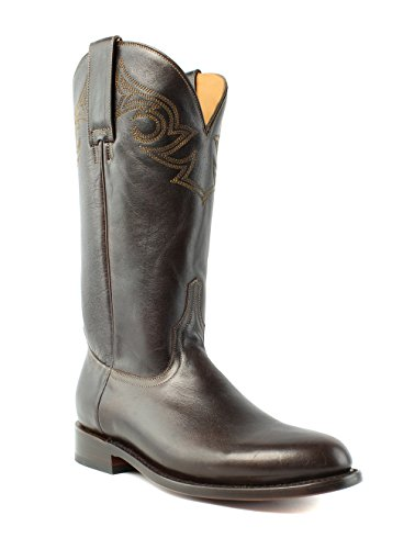 C2 Leather Western Lucchese M0520 Boots Cowboy Josephine Womens Chocolate 7w5S5Hq6