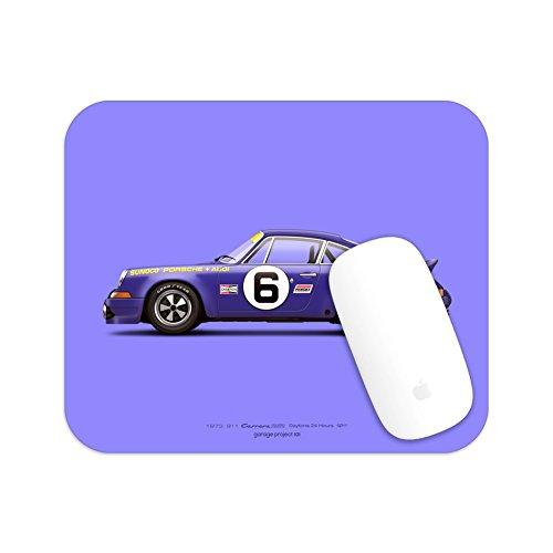 GarageProject101 1973 Classic 911 Carrera RSR (Daytona 24 Hours) Illustration Mouse Pad