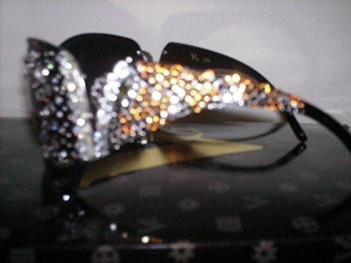 Crystal Frame Rhinestone Sun Glasses
