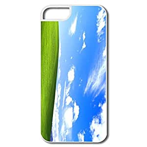 Great Blue Sky Plastic Cover For IPhone 5/5s wangjiang maoyi by lolosakes