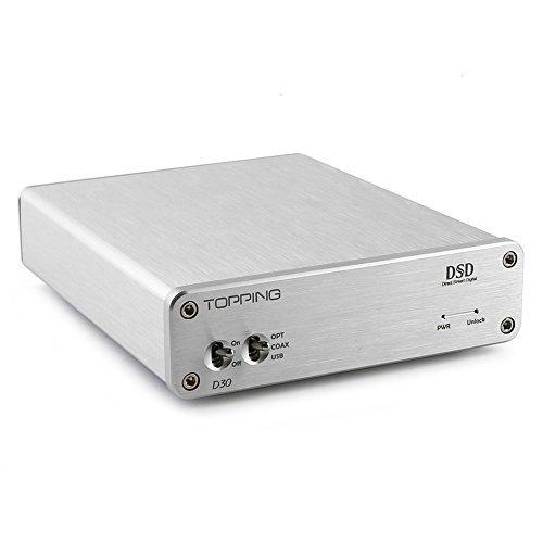 TOPPING D30 DSD Audio Decoder USB Coaxial Optical Fiber XMOS CS4398 24Bit 192KHz by Topping