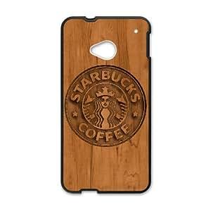 HTC One M7 Cell Phone Case Black Starbucks 4 gift W9574935