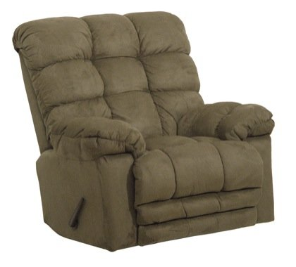 Magnum Chaise Rocker Recliner - Magnum Chaise Recliner Color: Sage
