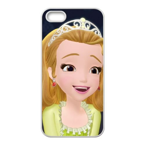 Price comparison product image iPhone 4 4s Cell Phone Case White Disney Sofia the First Character Princess Amber 07 Btrsc