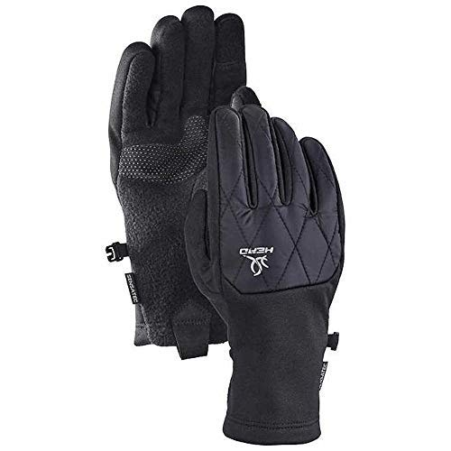 - HEAD Women's Hybrid Glove, Black (Size: Large) Cold Weather Running Gloves