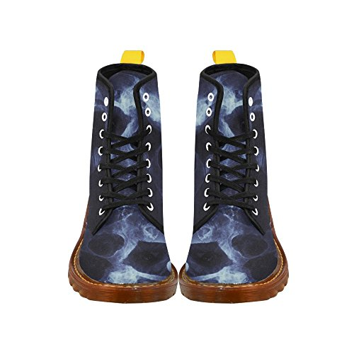 InterestPrint dragon Print Lace Up Boots Fashion Shoes For Men Joker Skull NF0meTJ